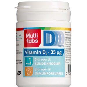 Køb Multi-tabs D3-vitamin 35 µg 180 stk. online hos apotekeren.dk