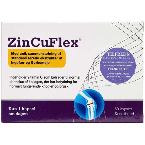 Køb ZinCuFlex kapsler 60 stk. online hos apotekeren.dk
