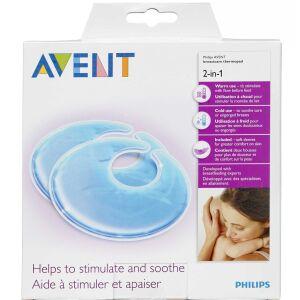 Køb Philips Avent 2-i-1 termoindlæg 1 par online hos apotekeren.dk