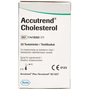 Køb Accutrend Kolesterol teststrimler 25 stk. online hos apotekeren.dk