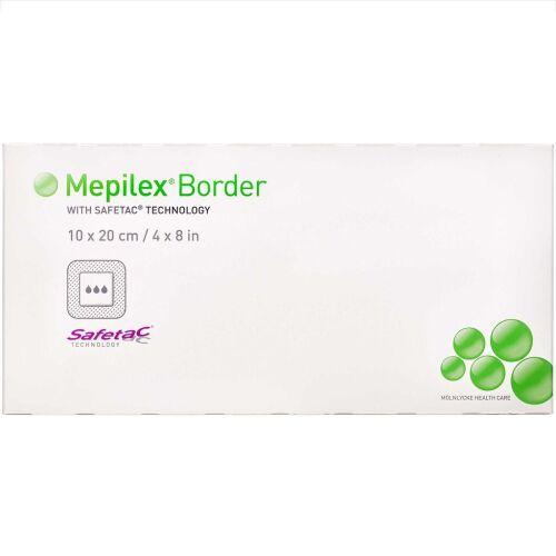 Køb Mepilex Border 10x20 cm 5 stk. online hos apotekeren.dk