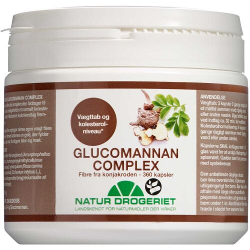Køb Glucomannan kapsler 360 stk. online hos apotekeren.dk