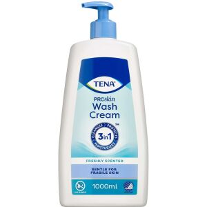 Køb TENA 3-in-1 Wash Cream 1000 ml online hos apotekeren.dk