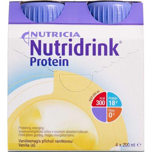 Køb Nutridrink Protein Vanille 4 x 200 ml online hos apotekeren.dk