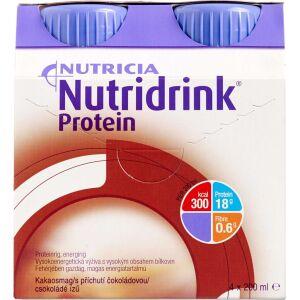 Køb Nutridrink Protein Chokolade 4 x 200 ml online hos apotekeren.dk