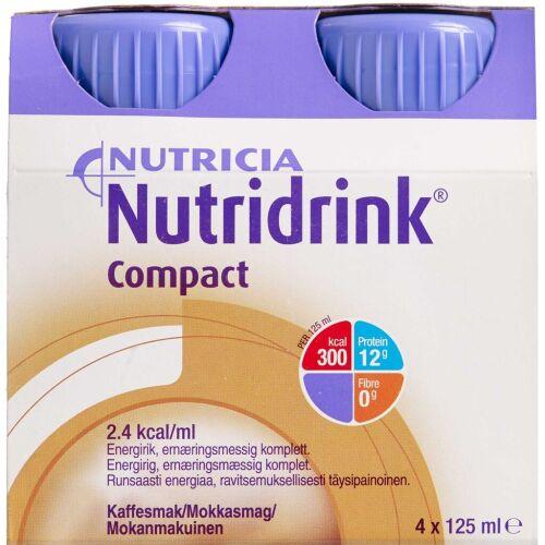Køb Nutridrink Compact Mokka 4 x 125 ml online hos apotekeren.dk