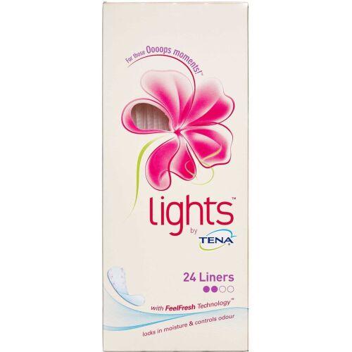 Køb Lights by TENA, Liner 24 stk. online hos apotekeren.dk