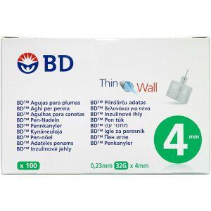 Køb BD Micro-Fine+ Penkanyle 4 mm 100 stk. online hos apotekeren.dk