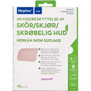 Køb Mepilex Lite 10x10 cm 2 stk. online hos apotekeren.dk