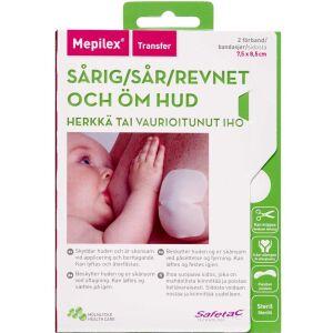 Køb Mepilex Transfer 7,5x8,5 cm 2 stk. online hos apotekeren.dk