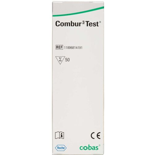 Køb Combur-3 Test 50 stk. online hos apotekeren.dk