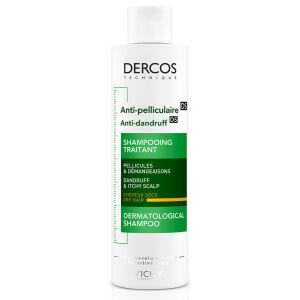 Køb Vichy Dercos skælshampoo - tør hovedbund 200 ml online hos apotekeren.dk