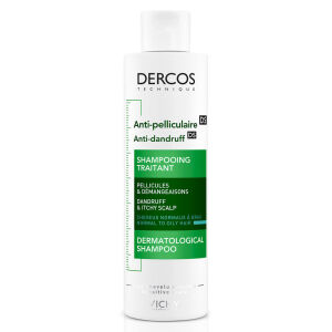 Køb Vichy Dercos skælshampoo normal/ fedtet hovedbund 200 ml online hos apotekeren.dk
