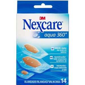Køb 3M Nexcare Aqua 360° strips 3 str. 14 stk. online hos apotekeren.dk