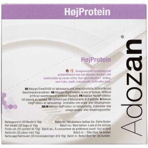 Køb Adosan Pulver HøjProtein 20 x 10 g online hos apotekeren.dk