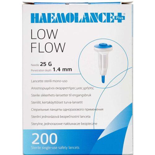 Køb Haemolance Plus low flow Lancetter 200 stk. online hos apotekeren.dk