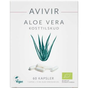 Køb AVIVIR Aloe Vera Kapsler 60 stk. online hos apotekeren.dk