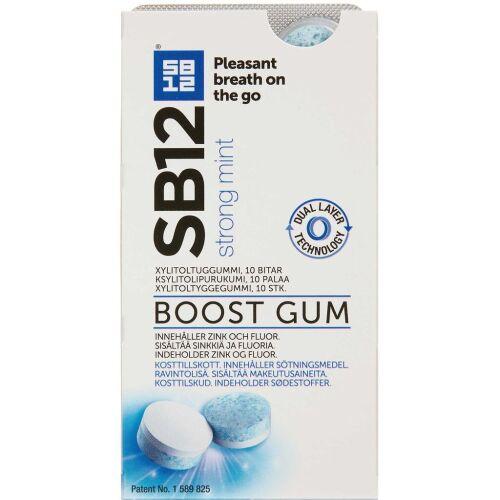 Køb SB12 Boost Strong Mint 10 stk. online hos apotekeren.dk