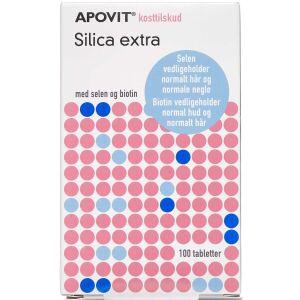 Køb Apovit Silica Ekstra tabletter 100 stk. online hos apotekeren.dk