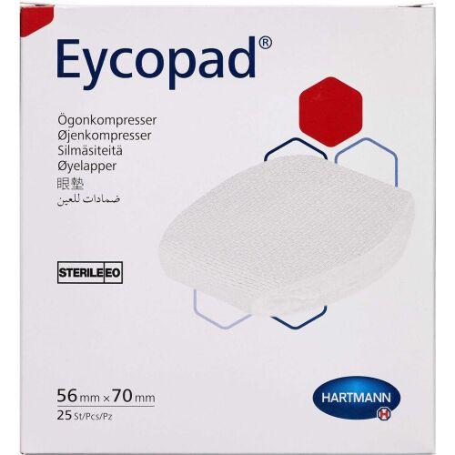 Køb Eycopad Øjenforbinding 56 x 70 mm 25 stk. online hos apotekeren.dk