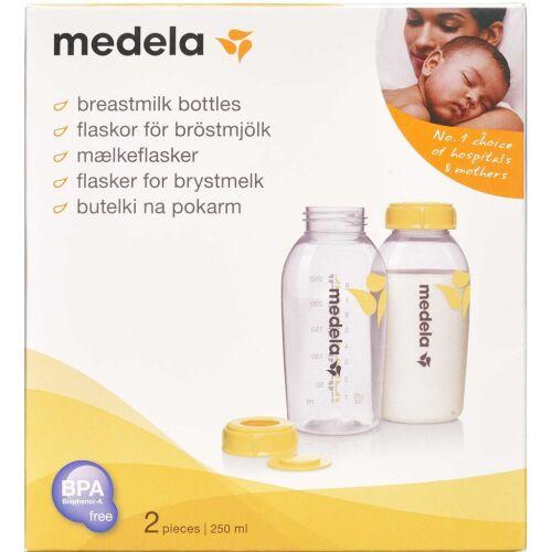 Køb Medela sutteflaske 250 ml 2 stk. online hos apotekeren.dk