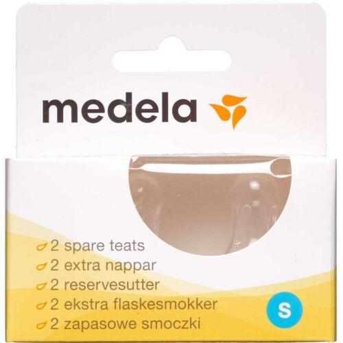 Køb Medela Flaskesut str. S 2 stk. online hos apotekeren.dk