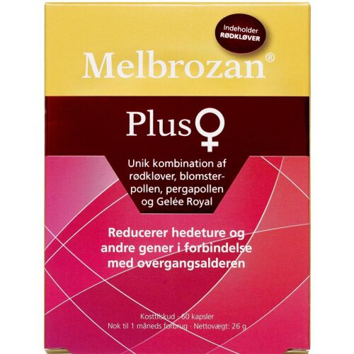 Køb Melbrozan Plus Kapsler 60 stk. online hos apotekeren.dk