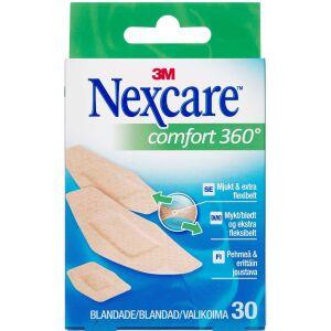 Køb 3M Nexcare Comfort 360° strips 30 stk. online hos apotekeren.dk