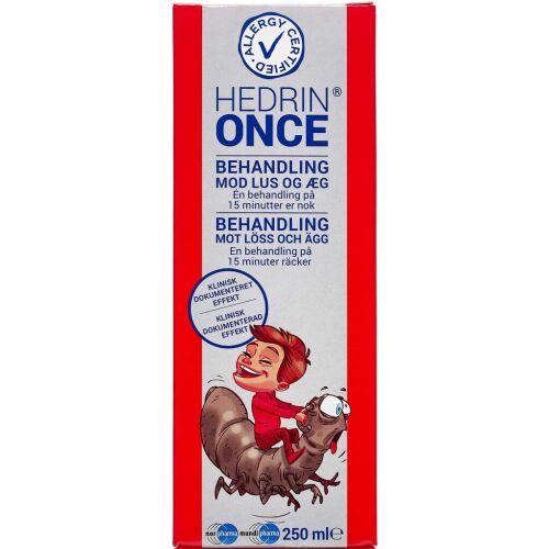 Køb Hedrin Once gel 250 ml online hos apotekeren.dk
