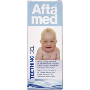 Køb Aftamed Teething gel 15 ml online hos apotekeren.dk