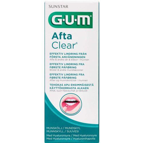 Køb GUM AftaClear mundskyl 120 ml online hos apotekeren.dk