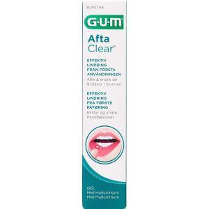 Køb GUM AftaClear gel 10 ml tube i box online hos apotekeren.dk