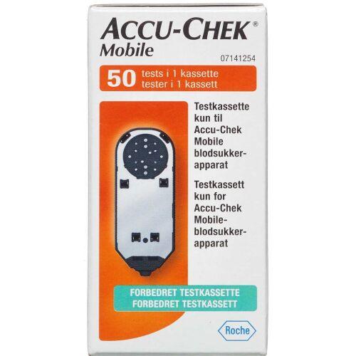 Køb Accu-Chek Mobile test kassette 50 stk. online hos apotekeren.dk