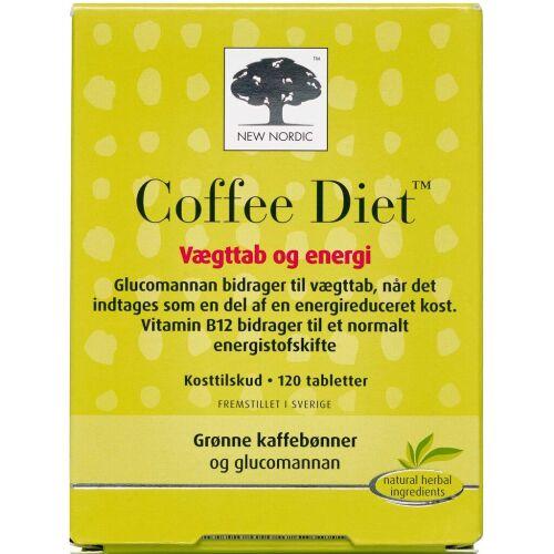 Køb Coffee Diet tabletter 120 stk. online hos apotekeren.dk