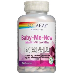 Køb Solaray Baby-Me-Now  tabletter 150 stk. online hos apotekeren.dk