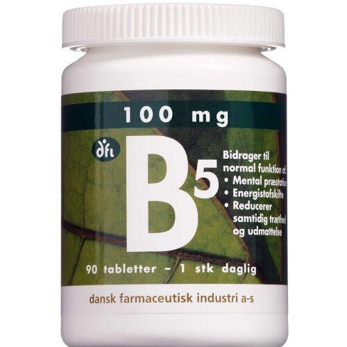 Køb Vitamin B5 tabletter 90 stk. online hos apotekeren.dk