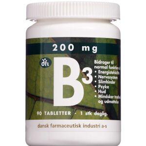Køb Vitamin B3 tabletter 90 stk. online hos apotekeren.dk