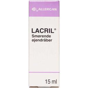 Køb Lacril smørende øjendråber 15 ml online hos apotekeren.dk