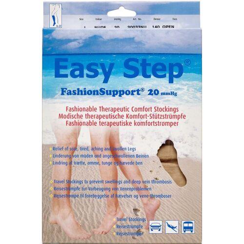 Køb Easy Step knæ åben tå nude L 1 par online hos apotekeren.dk