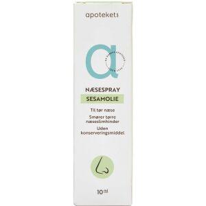 Køb Apotekets Sesamolie Næsespray 10 ml online hos apotekeren.dk
