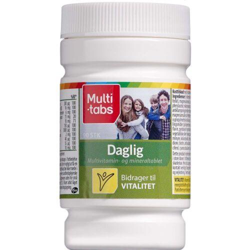 Køb Multi-tabs Daglig 90 stk. online hos apotekeren.dk