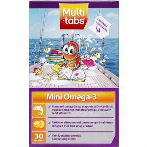 Køb Multi-tabs Mini Omega-3  kosttilskud 30 stk. online hos apotekeren.dk
