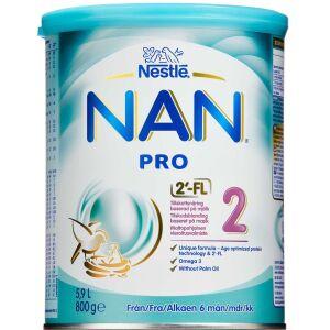Køb NAN Pro 2 pulver 800 g online hos apotekeren.dk
