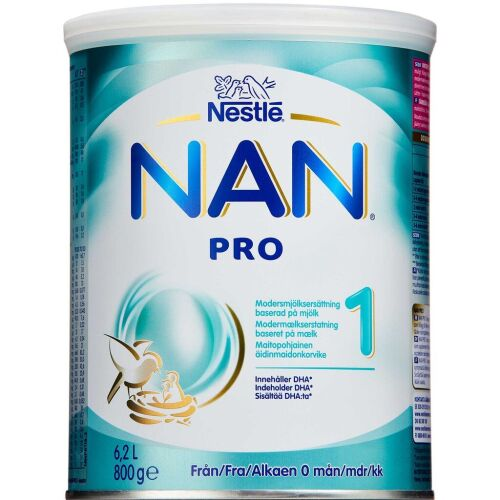 Køb NAN Pro 1 800 g online hos apotekeren.dk