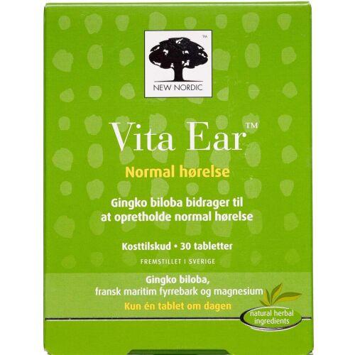 Køb Vita Ear tabletter 30 stk. online hos apotekeren.dk