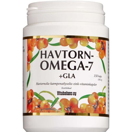 Køb Havtorn Omega-7 +GLA kapsler 150 stk. online hos apotekeren.dk