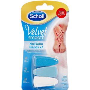 Køb Sholl Velvet Smooth Refill 3 stk. online hos apotekeren.dk
