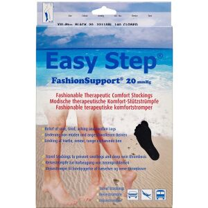 Køb Easy Step knæ lukket tå sort XXL+ 1 par online hos apotekeren.dk