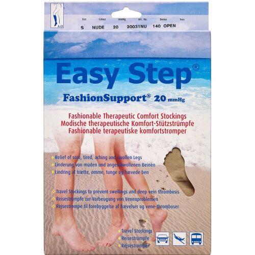 Køb Easy Step knæ åben tå nude S 1 par online hos apotekeren.dk