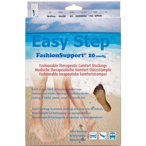 Køb Easy Step knæ åben tå nude M+ 1 par online hos apotekeren.dk